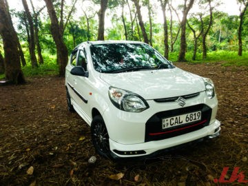 Alto 800 VXI (safety) with Air bag